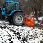 Agrimaster  - AWP 225 erdészeti szárzúzó